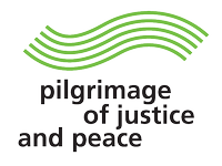 Pilgrimage of justice and peace logo